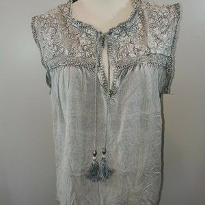 Solitaire Peasant Top Size Large Tassel Tie